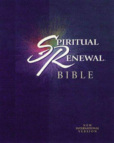 9780310918592: Spiritual Renewal Bible, Burgundy Bonded Leather