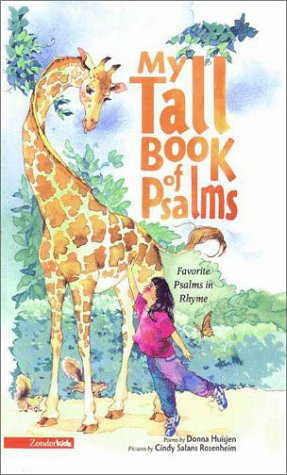 9780310918615: My Tall Book of Psalms: Poems