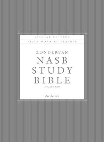 9780310918660: Zondervan NASB Study Bible