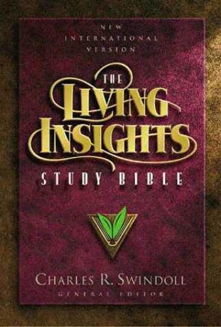 The Living Insights Study Bible New International: Charles R. Swindoll