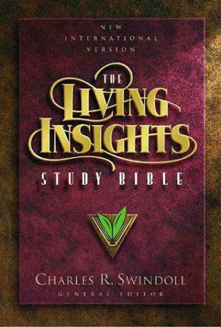 9780310918806: The Living Insights Study Bible: Black Leather
