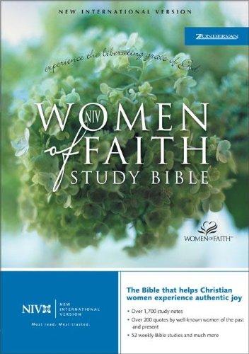 9780310918851: NIV Women of Faith Study Bible - Violet