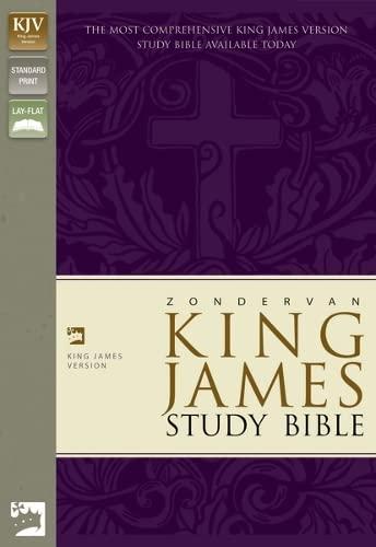 9780310918943: Zondervan King James Version Study Bible: Burgundy Bonded Leather