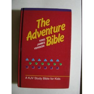 9780310919025: The Adventure Bible King James Version KJV Study: A KJV Bible for Kids