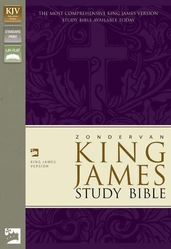 9780310919599: Zondervan King James Version Study Bible: Black Bonded Leather