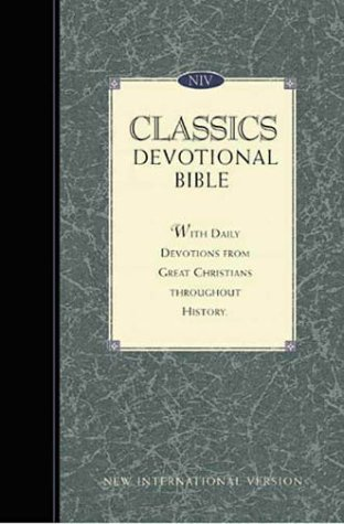 9780310919681: New International Version Classics Devotional Indexed Bonded Leather Navy