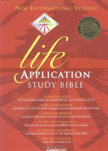 9780310919896: Life Application Study Bible-NIV