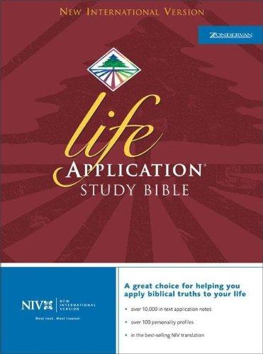 9780310919902: NIV Life Application Study Bible, Indexed