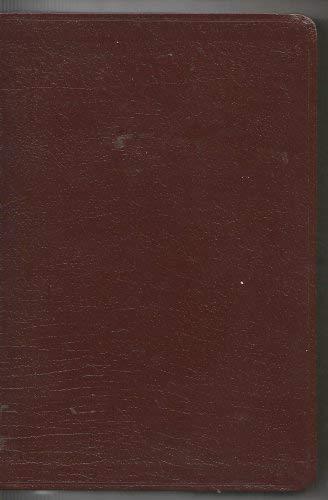 9780310920175: New International Version Single Column Text Bible: Burgundy