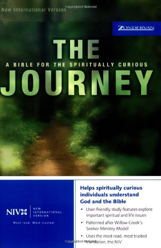 9780310920236: Journey-NIV: Study Bible for Spiritual Seekers: A Bible for the Spiritually Curious
