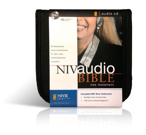9780310920281: NIV Audio Bible New Testament Dramatized CD