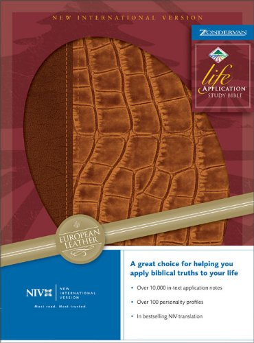 9780310920373: NIV Life Application Study Bible (New International Version)