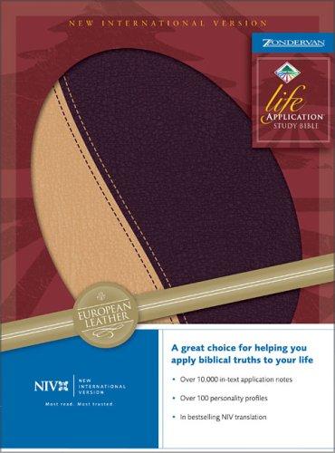 9780310920380: NIV Life Application Study Bible (New International Version)