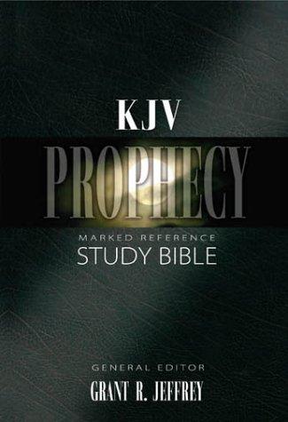 9780310920687: Kjv Prophecy Study Bible Bonded Leather Black