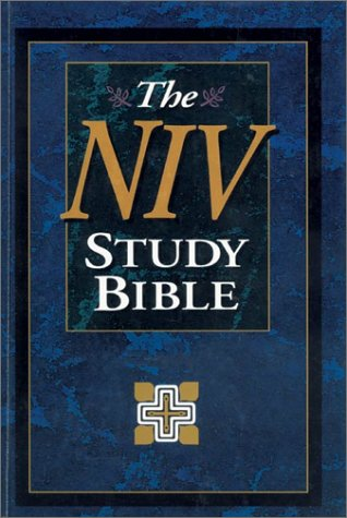 9780310920762: New International Version Study Bible: Black Bonded Leather : Boxed