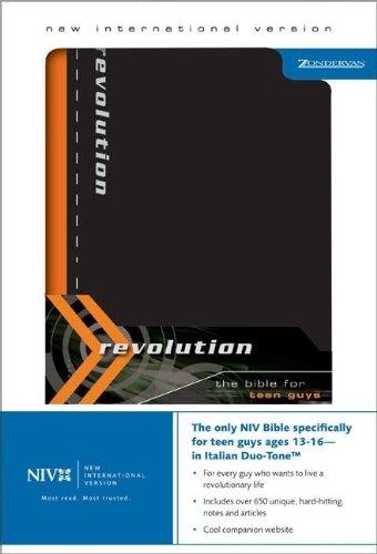 9780310920946: NIV Revolution: The Bible for Teen Guys