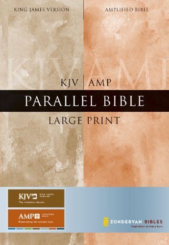 9780310921059: KJV/Amplified Parallel Bible, Large Print (King James Version)