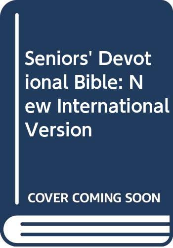Seniors' Devotional Bible: New International Version