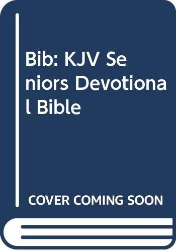 9780310921141: The Senior's Devotional Bible, King James Version