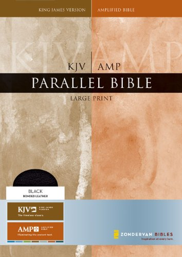 9780310921288: KJV/Amplified Parallel Bible, Large Print (King James Version)