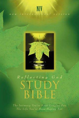 9780310921318: Reflecting God Study Bible