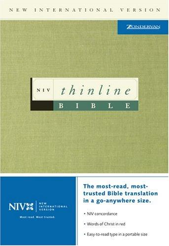 9780310921684: NIV Thinline Bible