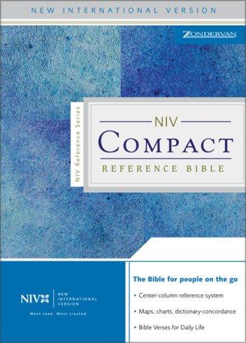 NIV Compact Reference Bible: Zondervan