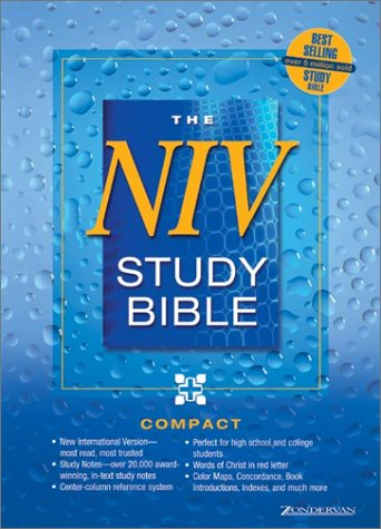 9780310921790: NIV Study Bible Compact