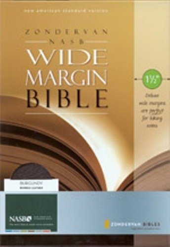 9780310921844: Wide Margin Bible-NASB