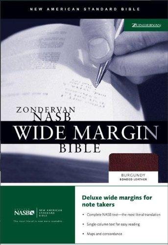 9780310921851: Zondervan NASB Wide Margin Bible