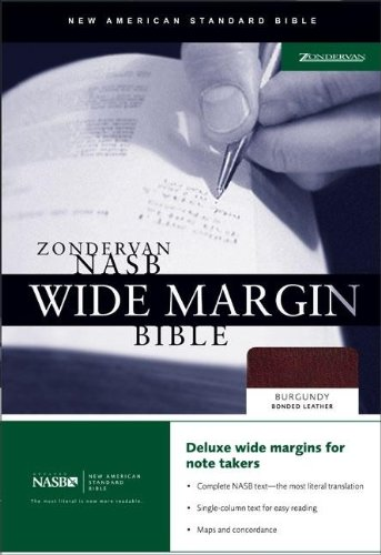 9780310921851: Zondervan NASB Wide Margin Bible