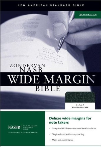 9780310921868: Zondervan NASB Wide Margin Bible