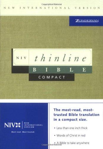 9780310921899: NIV Compact Thinline Bible