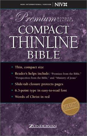 9780310921929: NIV Compact Thinline Bible