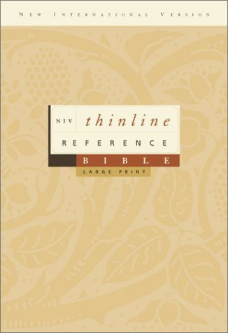 9780310922100: NIV Thinline Reference Bible