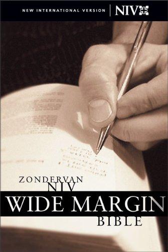 9780310922155: Zondervan NIV Wide Margin Bible