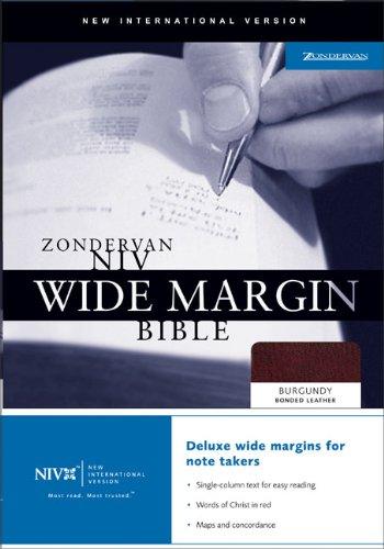 9780310922179: Zondervan NIV Wide Margin Bible