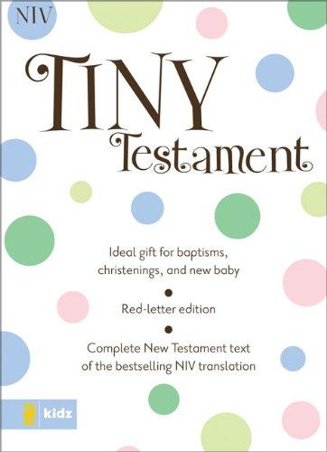 NIV Tiny Testament Bible (9780310922308) by Zondervan