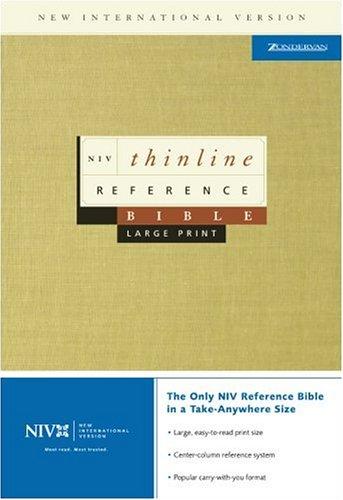 9780310922353: NIV Thinline Ref L/P Blk Bnd IDX (NIV Thinline Reference)
