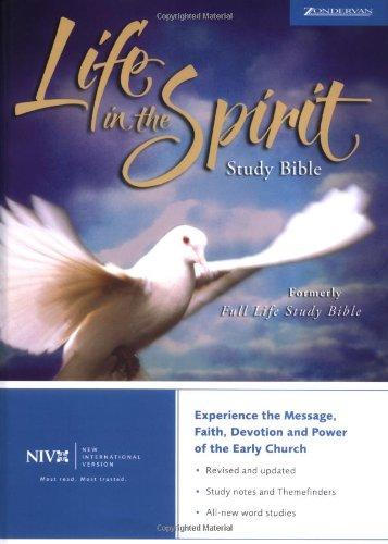 9780310922421: NIV Life in the Spirit Study Bible