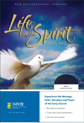 9780310922452: NIV Life in the Spirit Study Bible