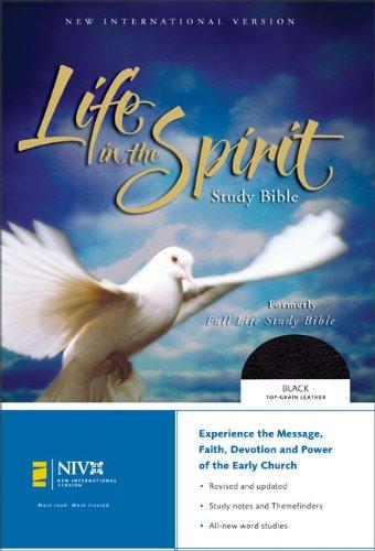 9780310922469: NIV Life in the Spirit Study Bible