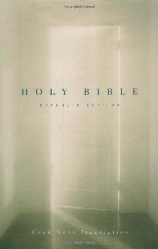 9780310922520: GNT Holy Bible, Good News Translation, Catholic Edition