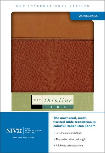 9780310922810: NIV Thinline Bible