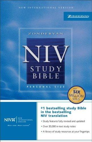 Zondervan NIV Study Bible, Personal Size: Kenneth L. Barker