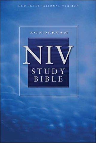 9780310923114: Zondervan NIV Study Bible, Personal Size