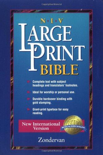9780310923213: NIV Worship Bible, Large Print Edition