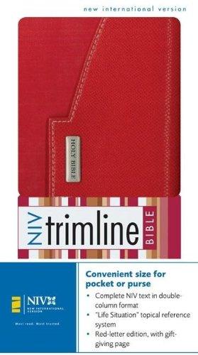 9780310923244: NIV Trimline Bible