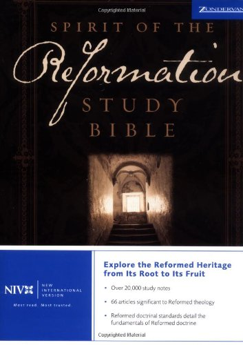 9780310923602: NIV Spirit of the Reformation Study Bible