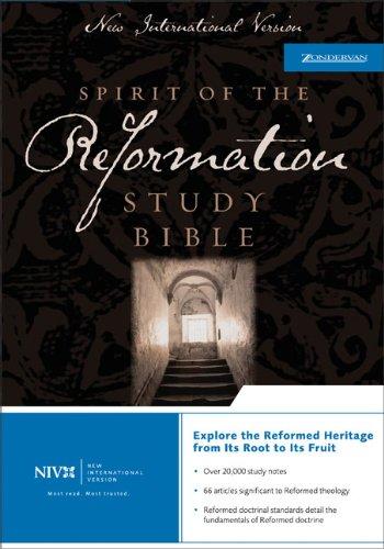 9780310923633: NIV Spirit of the Reformation Study Bible